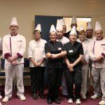 Photo des équipes de cuisine participantes au concours Vital'chef